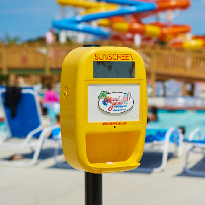 Maui Jack's Sunscreen Dispenser