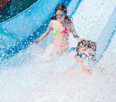 Waterslides at Maui Jack's