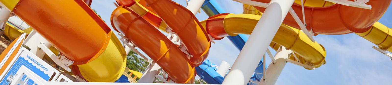 Slides at Maui Jack's Waterpark